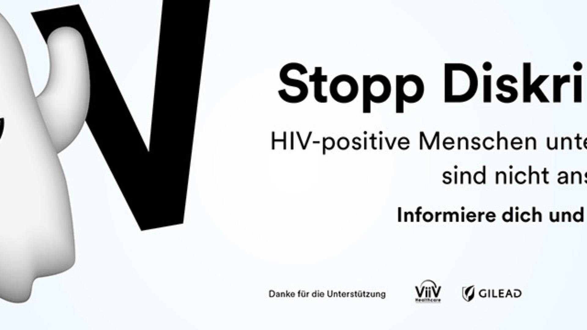 HIV-positive Menschen unter erfolgreicher Therapie sind nicht ansteckend.