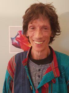 René Rohner, langjähriger Freelance-Mitarbeiter beim HIV-Schulprojekt.