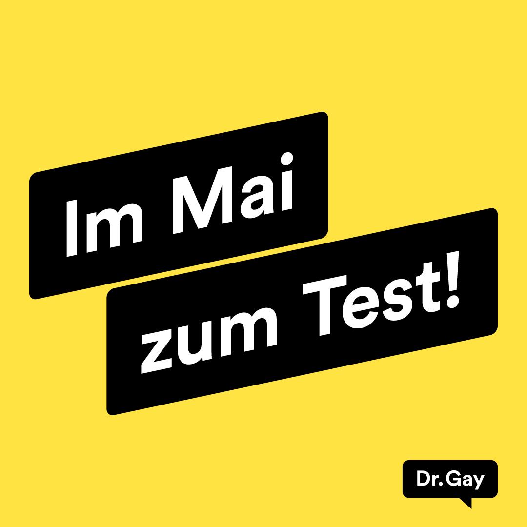 Im Mai zum Test!
